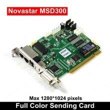 Novastar MSD300 Synchronous Full Color Enviar Cartão de Publicidade Grande Led Parede de Vídeo 1280*1024 Pixels