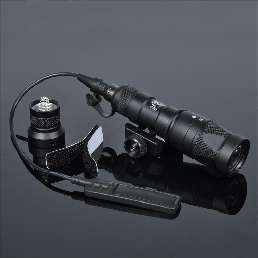 m300v lanterna tatica arma de luz com saida momentanea estroboscopio constante para 20mm picatinny ferroviario