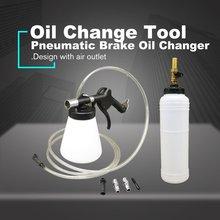 Car Auto Pneumatic Brake Fluid Bleeder Bleeding Oil Change Tool Pumping Refill Kit For Cars Trucks Motorcyles