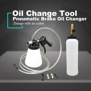 Car Auto Pneumatic Brake Fluid Bleeder Brake Bleeding Oil Change Tool Pumping Brake Oil Refill Kit For Cars Trucks Motorcyles automative brake bleeding brake system fluid bleed pressure brake bleeder tool car accessories car brake fluid oil change tool