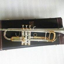 Качественные Оригинальные Серебряные Позолоченные LT180S-72 для ключей Bb профессиональный трубный колокольчик Топ Музыкальные инструменты латунь