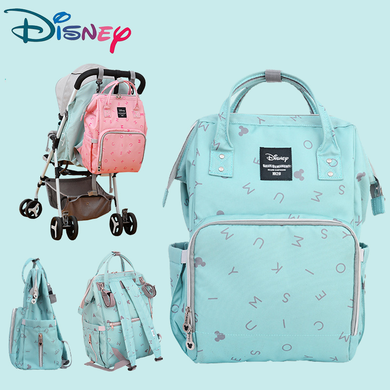 Disney Fashion Mummy Maternity Nappy Bag Baby Diaper Bags Maternity Bag For Stroller Waterproof Baby Diaper  Backpack Maternity