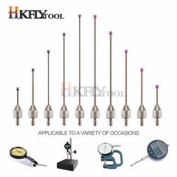 Indicador de Dial extensión de medidor de altura de la cabeza medidor de altura del lápiz medidor de altura rubí multímetro cables de prueba punto de contacto para DiaL
