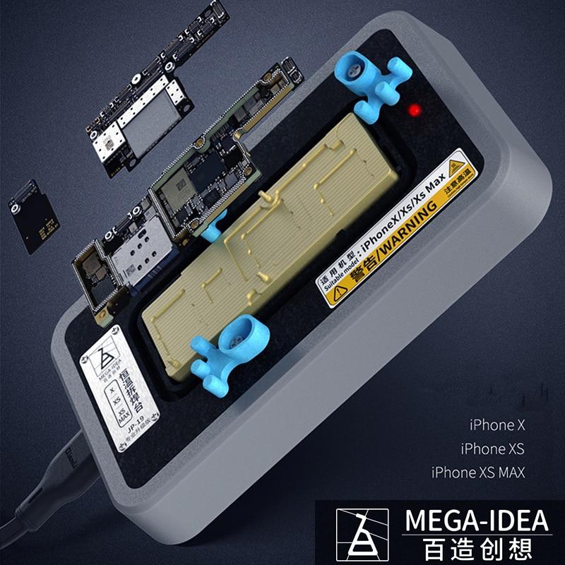 Qianli para iPhone X XS XSMAX placa base capas superior e inferior separación rápida plataforma de desmontaje plataforma de calefacción