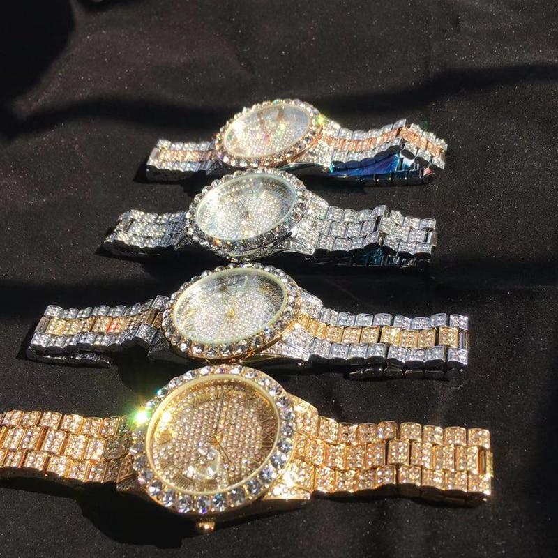shining large diamonds watch for men hip hop iced out mens quartz watches waterproof auto date business male clock drop shipping relogio masculino reloj hombre zegarek meski (17)