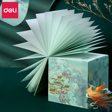 DELI Summer Palace Series Notes Student Creative Message Paper Notes Stickers Gifts Gifts