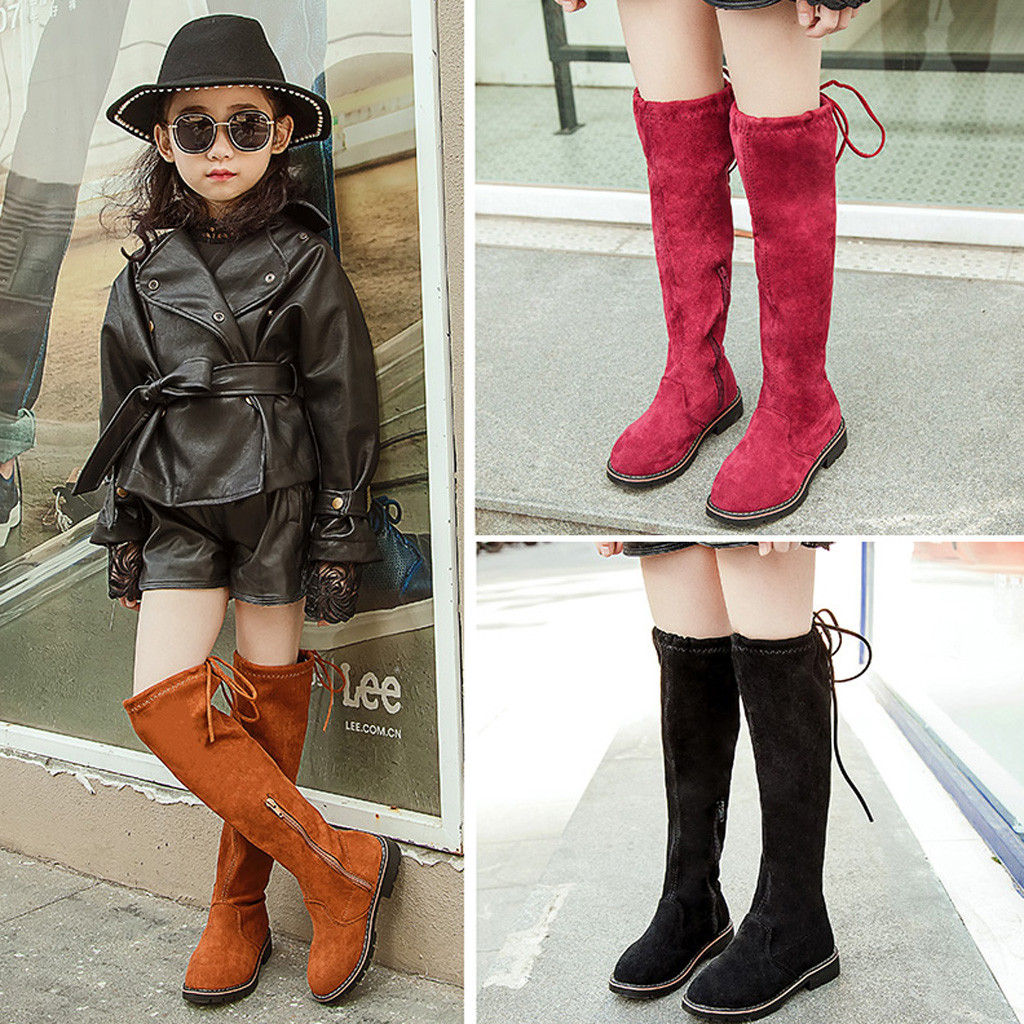 girls in tall boots