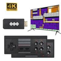 USB Беспроводной ручной ТВ игровая консоль встроенный 620 классический 8-битный игровой мини консоль двойной геймпад AV Выход