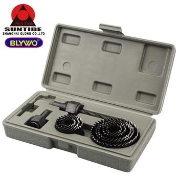 цена на 11Pcs Hole Saw Set Hole Cutter for Woodworking Cutting Wood and Drywall and Plastic Wood Cutter Drill Bit Opener Tool