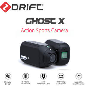 Drift Helmet Cam Bicycle-Camera Mountain-Bike Ghost-X-Action-Camera Wifi Motorcycle 1080P