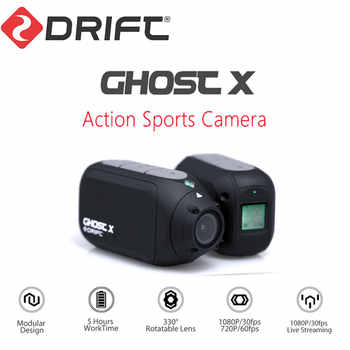 New Arrival Drift Ghost X Action Camera Sport Camera 1080P Motorcycle Mountain Bike Bicycle Camera Helmet Cam with WiFi - DISCOUNT ITEM  53% OFF All Category