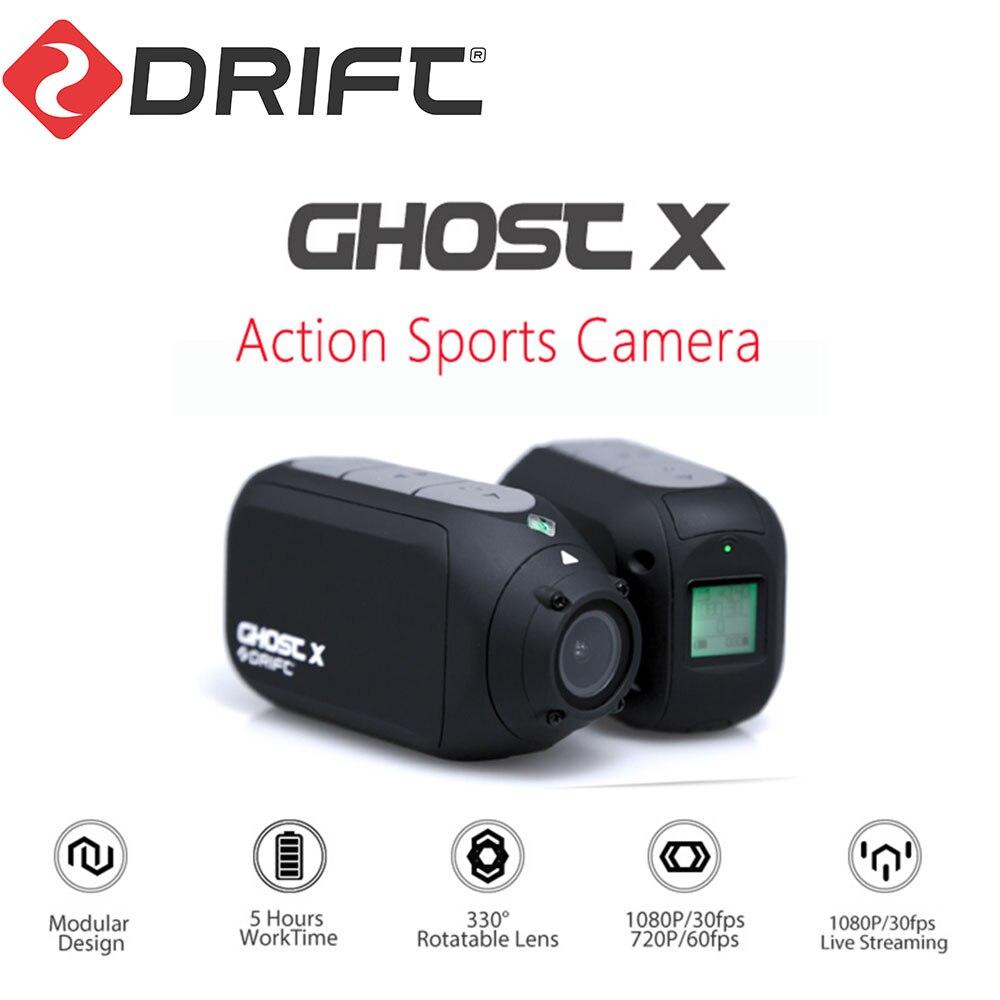Nouveauté dérive fantôme X Action caméra Sport caméra 1080P moto VTT vélo caméra casque Cam avec WiFi