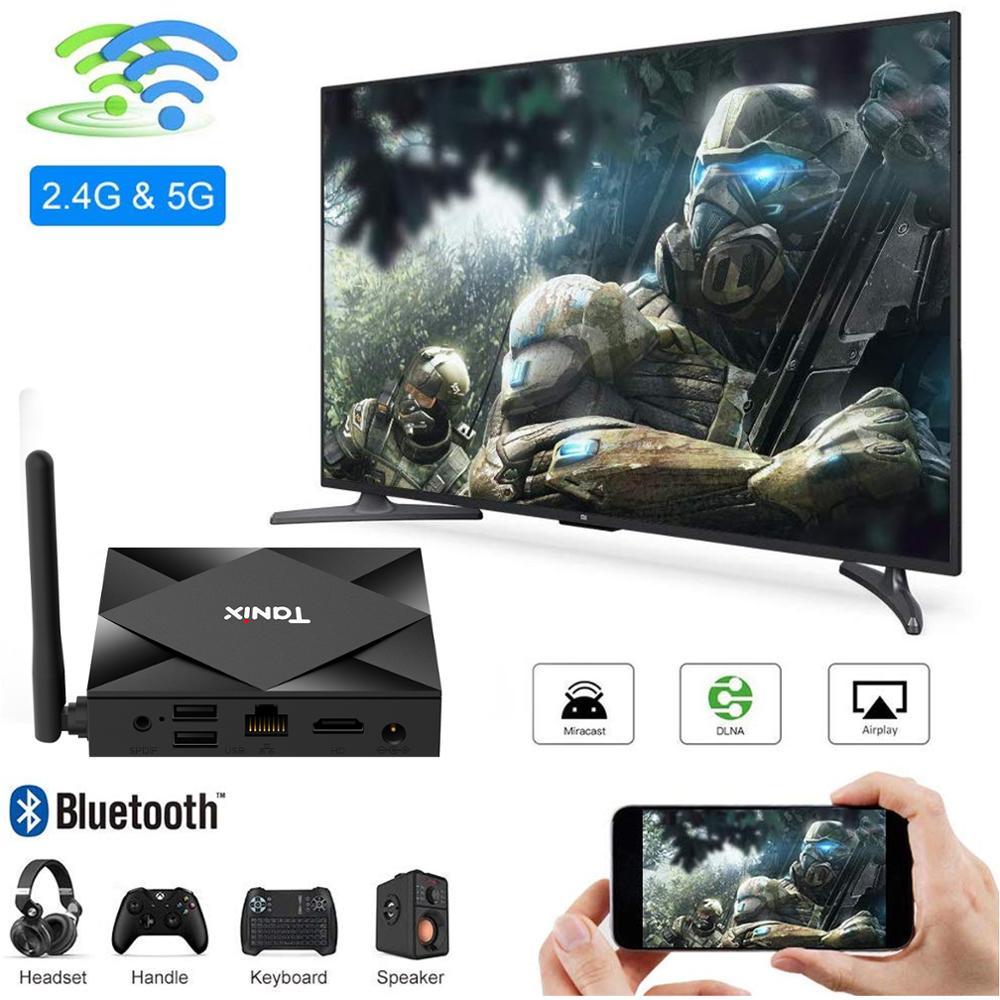 XGODY TX6S smart TV box Android 10 0 Allwinner H616 64 bit 4GB 64GB WiFi support 8k 4K h  265 bluetooth backlit keyboard