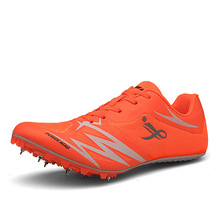 Sneakers Spikes Track Field And Nail Training Men Race-Jumping D0870 37-44 Plus-Size
