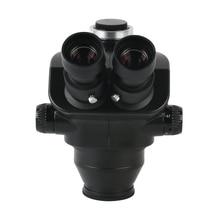 7X-50X Stereo Microscope Trinocular Microscope Head + WF10X/20mm Eyepiece Rubber Eye-guards Microscope Accessories