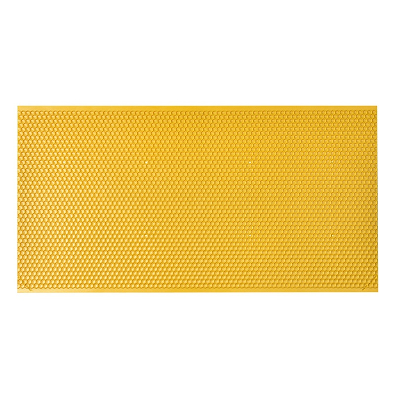 2019 Plastic Honeycomb Bee Wax Foundation Beehive Frames Base Sheets Bees Comb Honey Frame