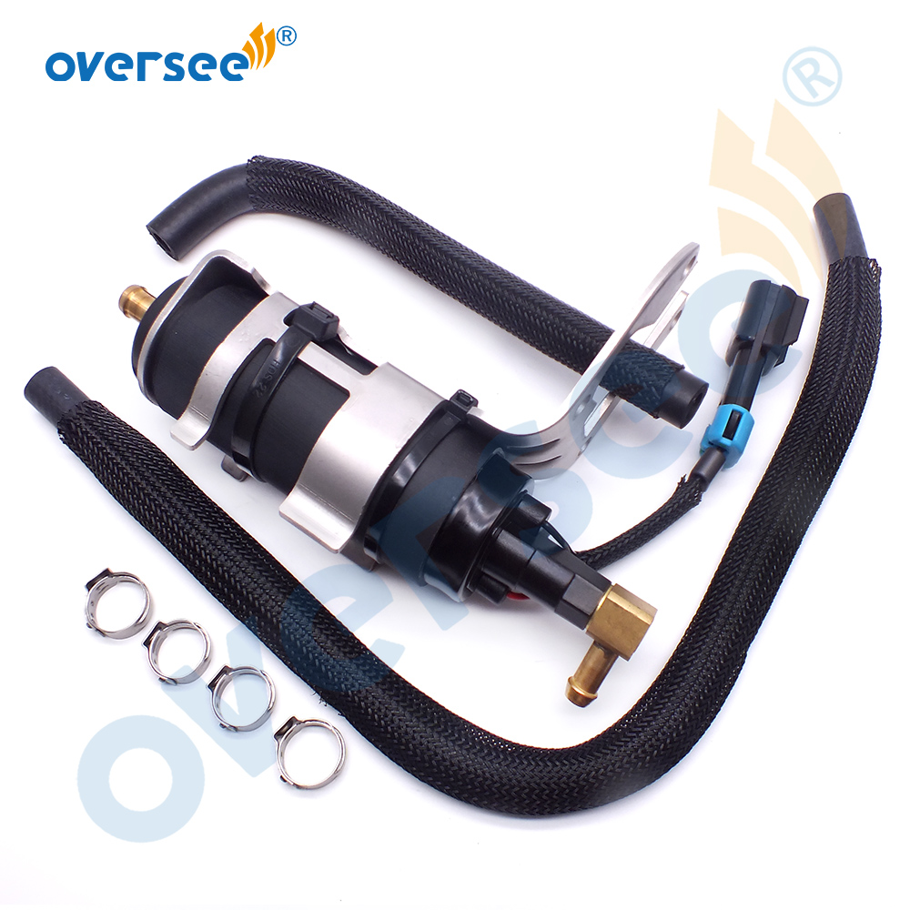 8M0047624 Fuel Pump Mercury Mariner Outboard Motor Parts 8558432 Low Pressure Fuel Pump With Stainless Bracket