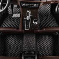 HLFNTF Custom car fußmatten Für Subaru alle modell FORESTER XV OUTBACK LEGACY Tribeca auto zubehör Auto Styling Auto matten