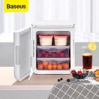 Baseus 6L Igloo Mini Fridge For Students Cooler and Warmer Refrigerator Home Use Ice Box Summer Mask Freezer For Fresh Fruit