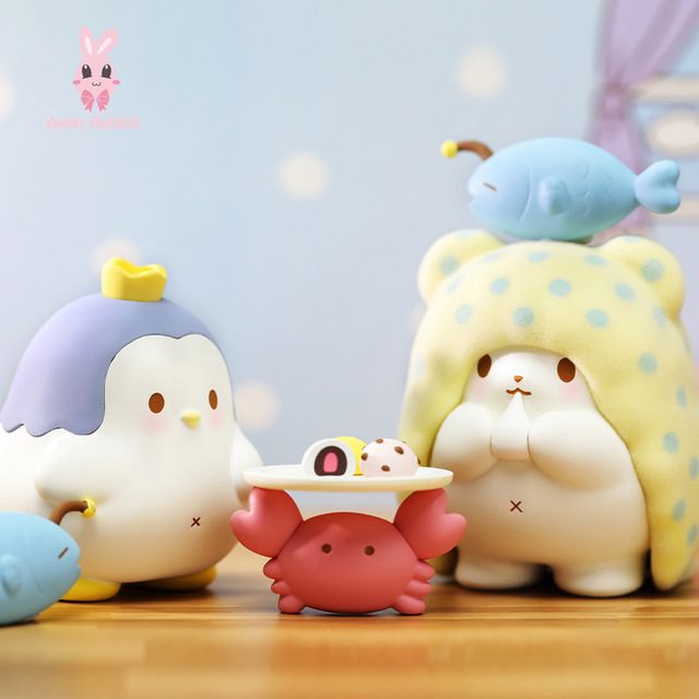 Blanket Bear Stay At Home Blind Box Toys Guess Bag Caja Ciega Blind Bag Toy for Girl Kawaii Figures Cute Model Birthday Gift 2