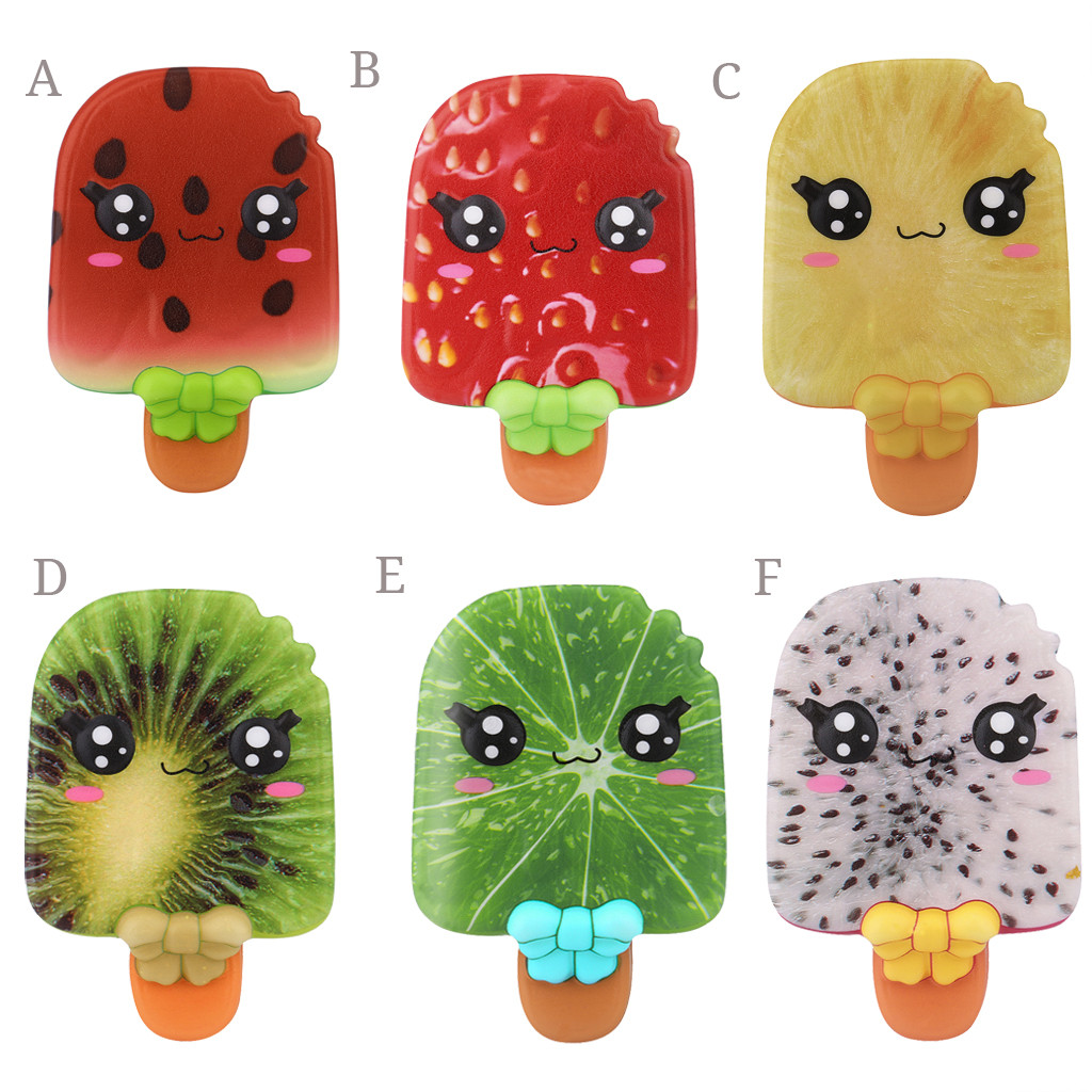 Christmas Toy Slow Rising Scented Ice Cream Stress Relief Kawaii Adorable Toy Fruit Ice Cream Decompression Toy L103