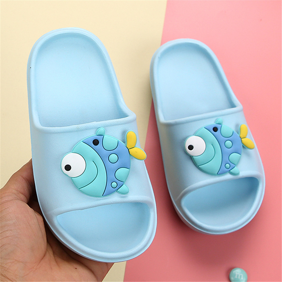Octopus bicycle Summer Slippers Cute Anti-Slip Slider Sandals Poolside Beach Flip Flop for Kids Boys and Girls Home /& Outdoor