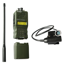 Tactical AN/PRC 152 PRC152 HarrisDummy Radio Case,No Function ,Military Talkie Walkie Model for Baofeng Radio With U94 6 Pin ptt