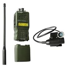 Taktik AN/PRC 152 PRC152 HarrisDummy radyo kılıfı, hiçbir fonksiyonu, askeri talkie walkie modeli Baofeng radyo ile U94 6 Pin ptt