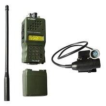 전술 an/PRC 152 prc152 harrisdummy 라디오 케이스, 기능 없음, u94 6 핀 ptt가있는 baofeng 라디오 용 군용 무전기 모델