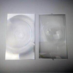 Image 3 - Um par de fresnel lente projetor profissional diy para 7 Polegada lcd projeção 2 peças, venda de fábrica!