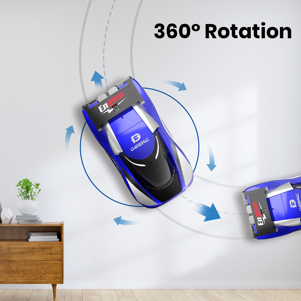 RC Car Wall Climbing Across RC Cars Remote Control Anti Gravity Racing Car Rotating Stunt Electric Toys for Kids Children