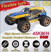 Wltoys High Speed RC Desert Buggy Electric Racing Car 12402-A 1/12 45km/h 4WD Rc Drift Car Remote Control Toys newest rc car electric toys zg9115 1 32 mini 2 4g 4wd high speed 20km h drift toy remote control rc car toys take off operatio