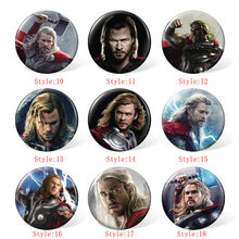 58MM The Avengers Anime Cosplay Badge Cartoon Brooches Pins Collection bags Badges for Backpacks Clothes 58mm metal badge mould the badge mould of the button badge machine