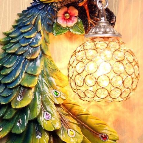 sudeste asiatico um par pavao lampada
