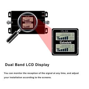 Image 3 - Lintratek 2G Gsm Cdma 850 3G 2100 Mhz Wcdma Umts 2100 Mhz Dubbele Band Mobiele Telefoon Signaal Booster verbeteren Repeater Versterker #7