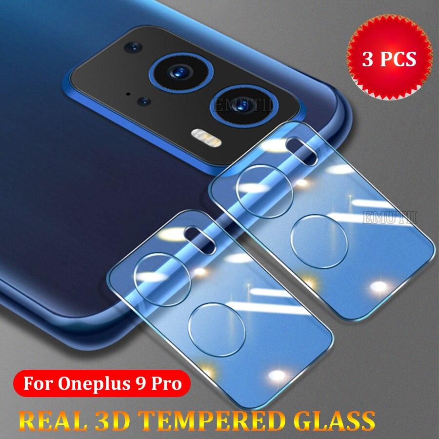 3PC for OnePlus 9 Pro Tempered Glass 3D Lens Protective Diamon Full Protector OnePlus9 Pro One Plus 9Pro Glass Camera Len Film