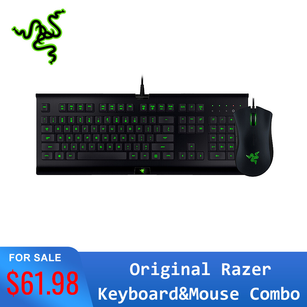 Asli Razer Cynosa Pro Keyboard Razer Deathadder 2000 Mouse Combo Kit Game Set 3 Warna Lampu Latar Makro Rekaman Keyboard Mouse Combos Aliexpress