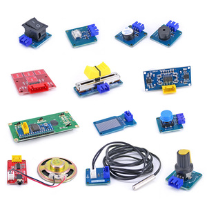 Image 5 - Easy Starter Kit Easy plug colorful XH 2.54mm socket Sensor Kit with MP3 RTC Temperature Sensor module for Arduino UNO R3