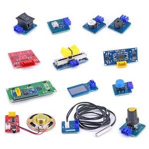 Image 5 - Kit de capteur de prise colorée XH 2.54mm, Kit de démarrage facile avec module de capteur de température MP3 RTC pour Arduino UNO R3