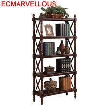 Camperas Decor Librero Bureau Meuble Oficina Estanteria Madera Shabby Chic Wood Retro Furniture Decoration Book Bookshelf Case