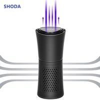 SHODA Cup Shape Car Air Purifier Negative Ions Air Cleaner Ionizer Remove PM2.5 Formaldehyde|Car Air Purifiers| |  -