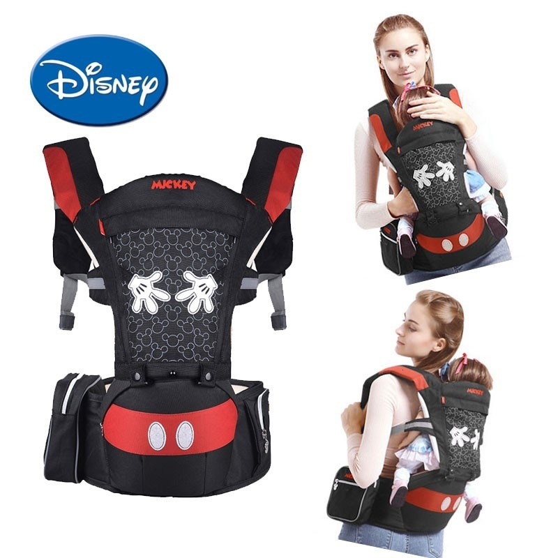 Disney Baby Carrier Infant Baby Hipseat Ergonomic Front Facing Multifunctional Carrier Kids Outdoor Activity Disney Accessories