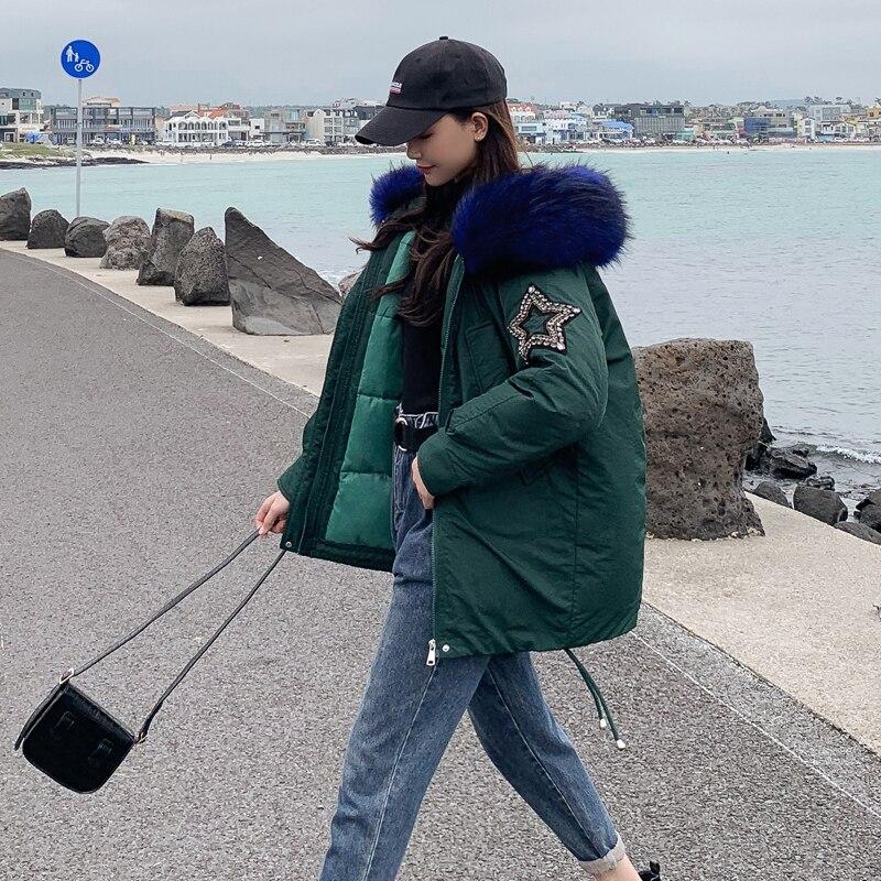 New Arrival 2019 Winter Jacket Women Cotton Padded Outwear Female Coat_B2_13