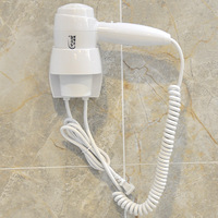 Electric Blower for Hotel or Household 1200W Security Wall Mounted Hair Dryer New Arrival K-4012-A