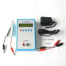 Digital LCD Capacitance LC Meter LC200A Inductive Inductance Tester Inductor Capacitor Table 1pF-100mF 1uH-100H with Test Clip