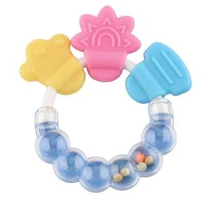 Baby Toy Pacifier Rattle Hanging Developmental Infant Kids Molar Tooth-Care Intelligence