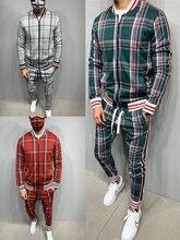 Новый мужской комплект, спортивный костюм, мужские спортивные костюмы, мягкий мужской комплект, куртка на молнии, костюм с длинным рукавом, ...