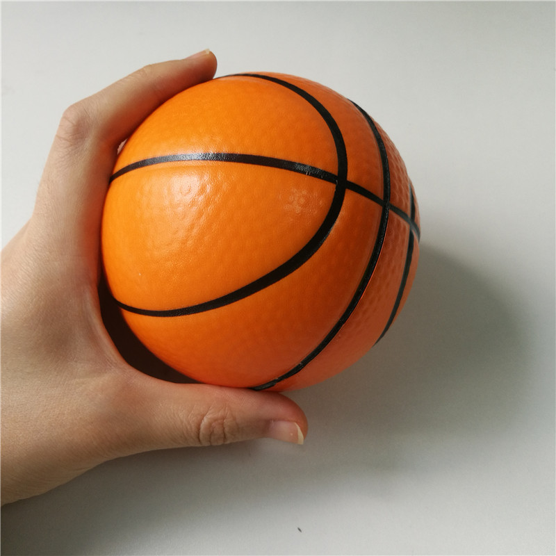 10cm Foam Stress Balls Toy Basketball Football Tennis Baseball Baby Toy Balls Squeeze Soft Toys For Kids Children