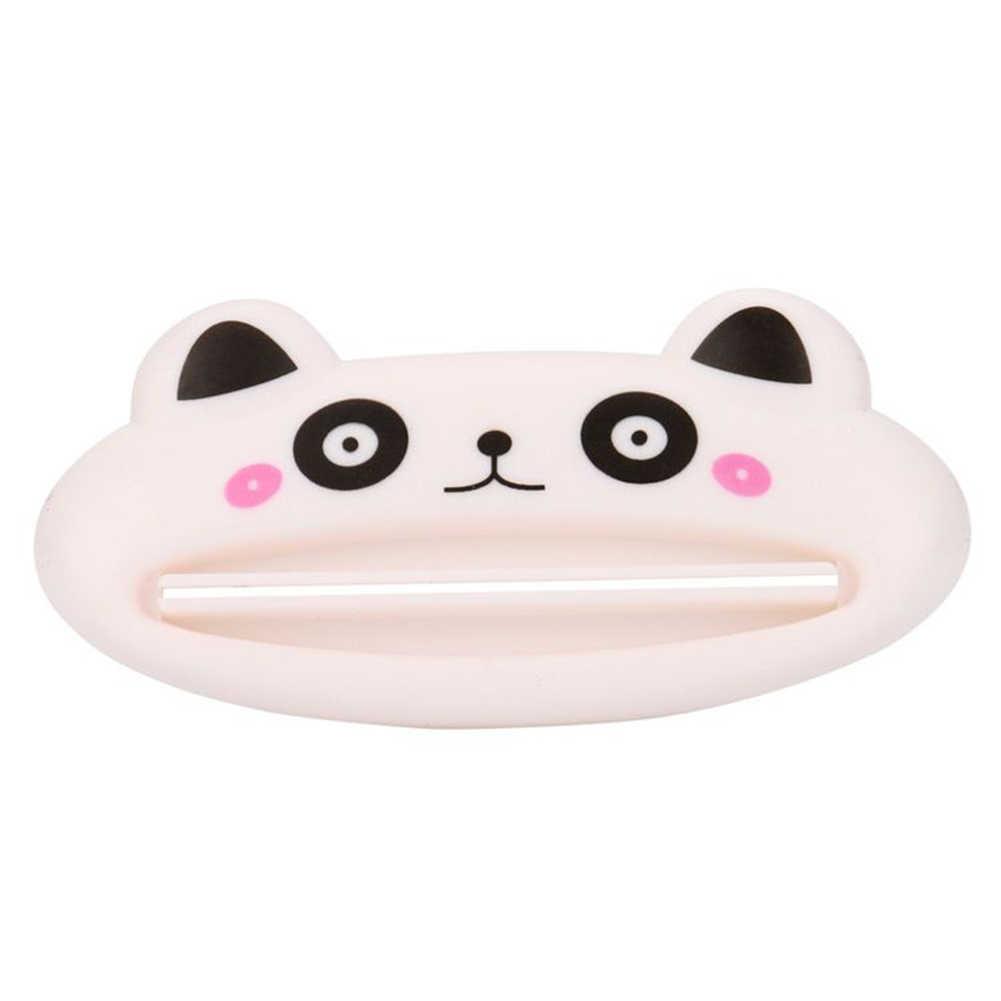Kartun Babi Kucing Panda Kamar Mandi Pasta Gigi Pemeras Tabung Bergulir Pemegang Pemeras Pasta Gigi Dispenser Kamar Mandi Aksesoris