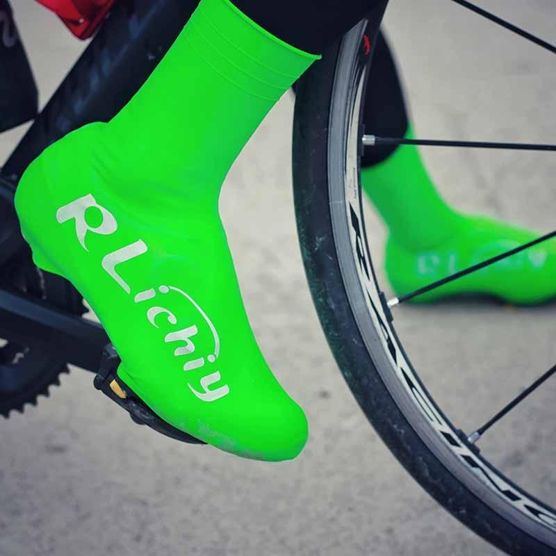 À prova ddustágua de poeira bicicleta ciclismo overshoes silicone unisex estrada mtb sapato capa